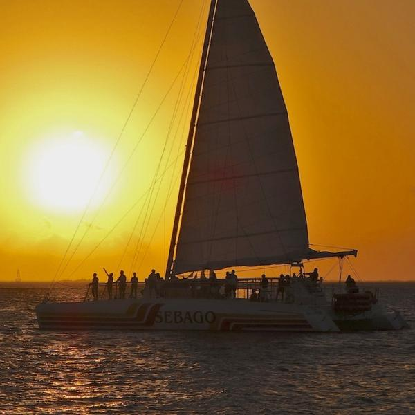 Key West with Teens should include a sunset sail.