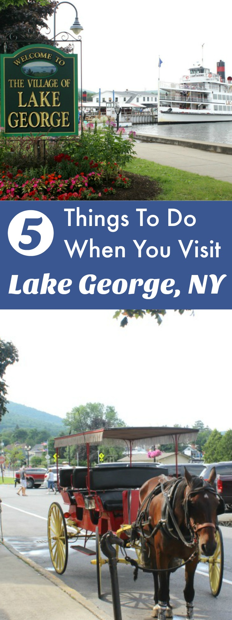 There are so many things to do in Lake George, NY that it makes a great vacation destination for the entire family.