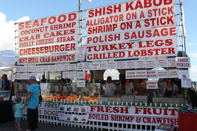 Visit Coastal Alabama in the Fall and experience the National Shrimp Festival Gulf Shores.