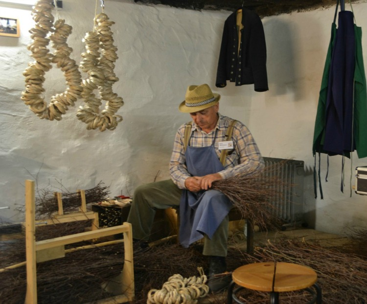 Broom making is another Black Forest tradition
