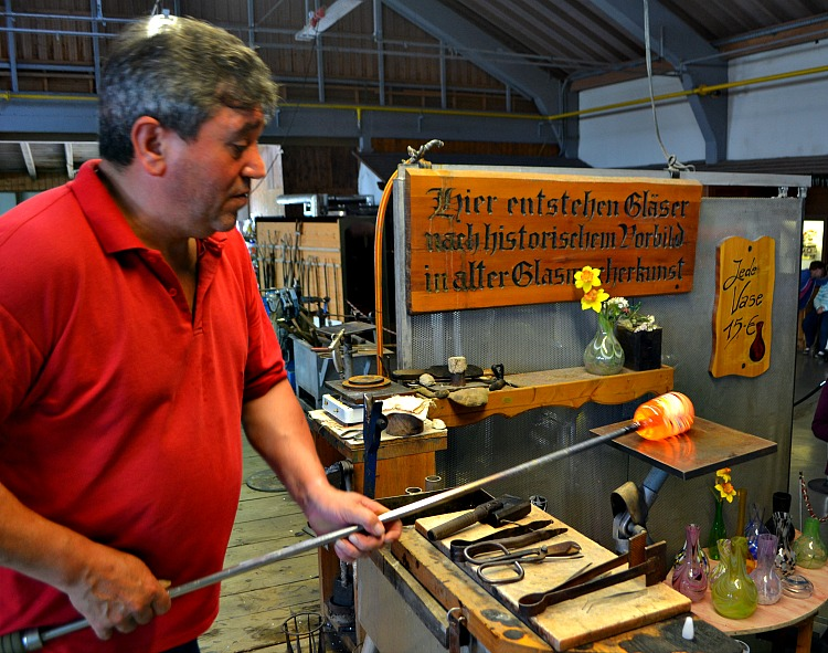 Glassblowing is one of the Black Forest Traditions you can share with your family