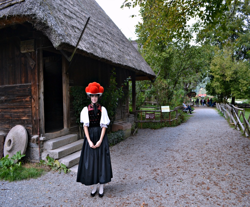 the bollenhut is one of the Black Forest traditions