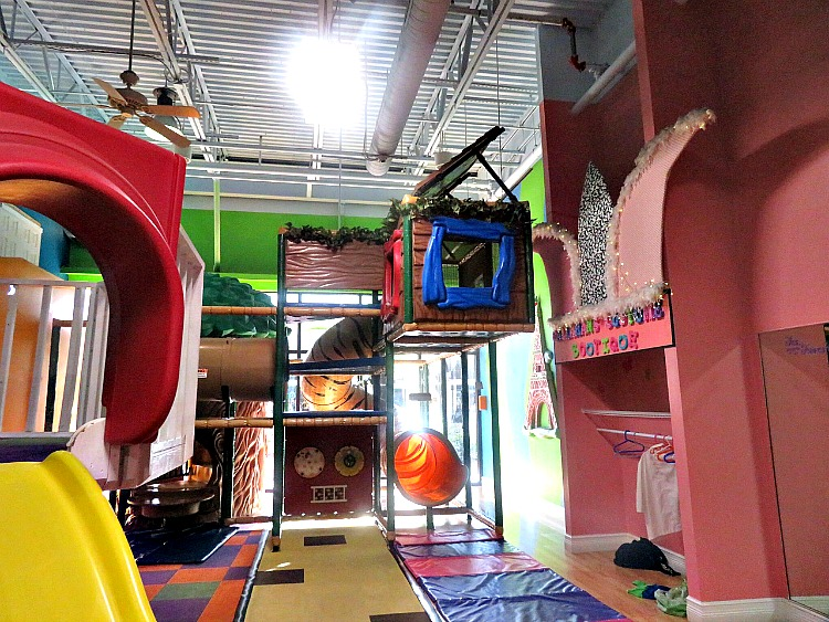 Visit Cool Beans Cafe and Indoor Playground for rainy day fun in The Palm Beaches.
