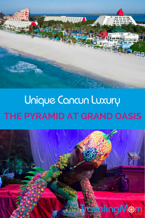 All-inclusive and unique Cancun luxury go hand in hand at The Pyramid at Grand Oasis.