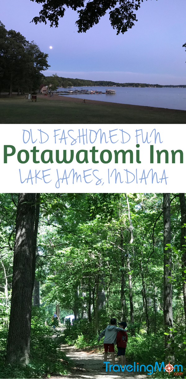There's lots of old fashioned fun at the Potawatomi Inn at Lake James, Indiana