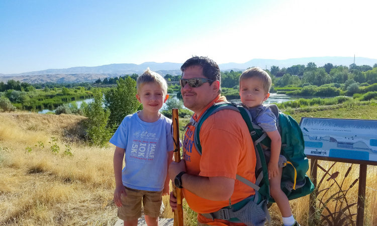 There's plenty of fun things to do with kids in Boise, Idaho - hiking is only one of them!