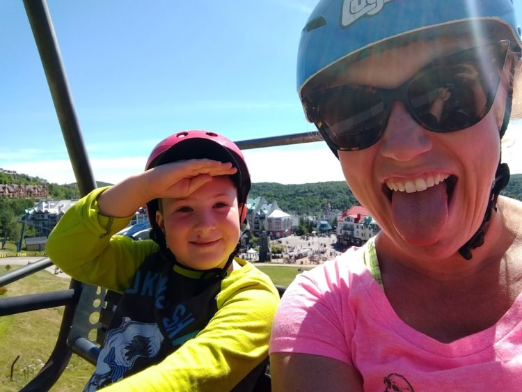 The Tremblant luge is one of the best summer activities