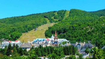Tremblant village in summer