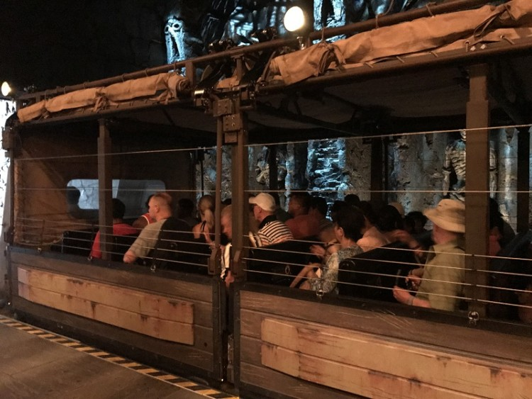 You'll ride in a safari jeep for the Skull Island: Reign of Kong ride. It's another amazing Universal Studios Florida experiences.