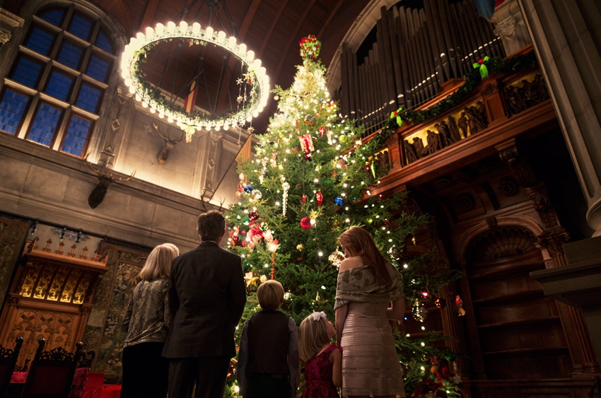 6 Tips for Doing Biltmore Estate -- visit the esate during the holidays for its Candlelight Christmas Evenings