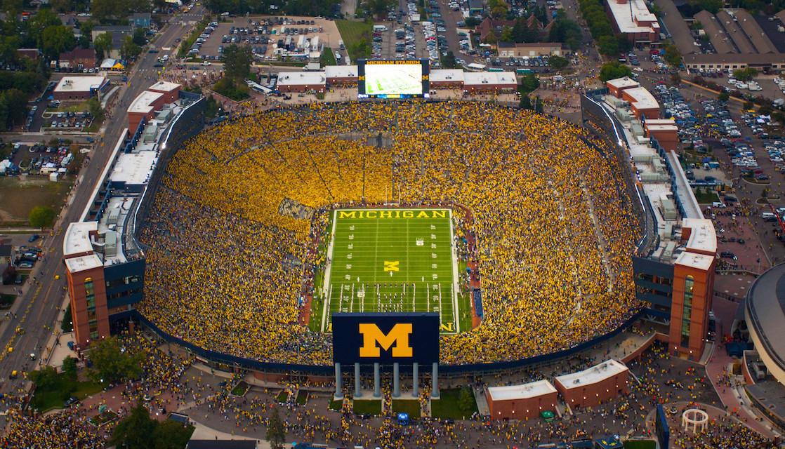 How to Return to College: Football in Ann Arbor, Michigan