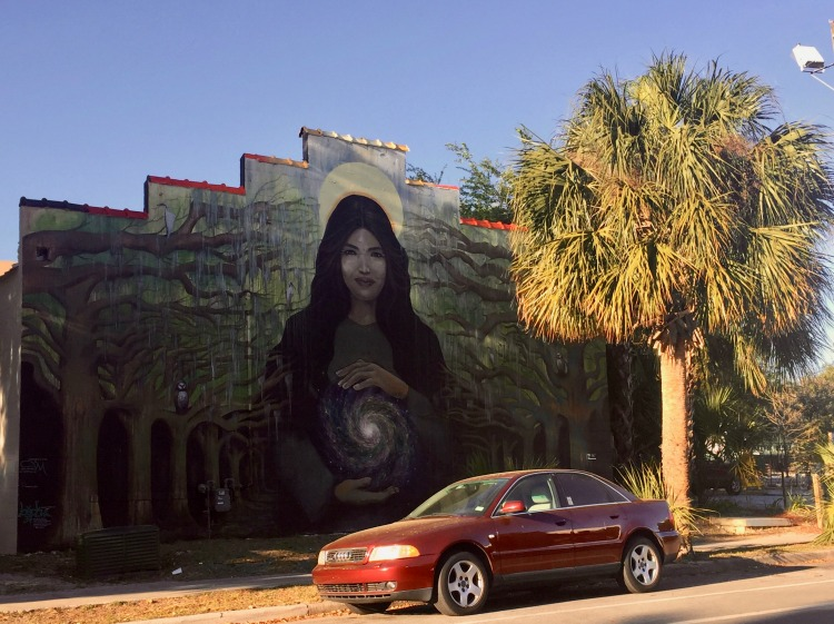 The 352 Walls is Gainesville, Florida's colorful murals and street art additions.