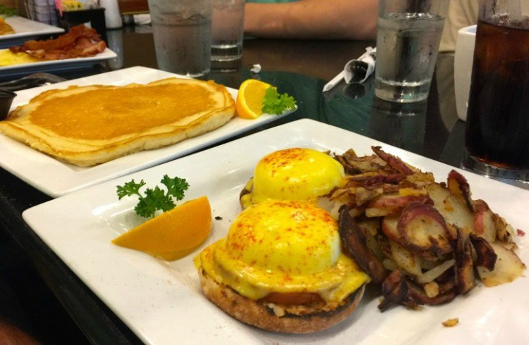 Keke's Breakfast Cafe has amazing Eggs Benedicts you will have to try for yourself!