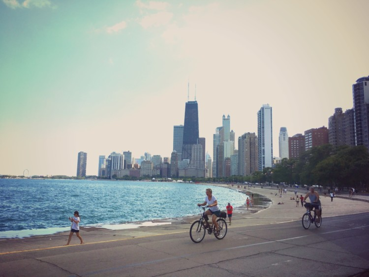 Rent a bike and ride the lakefront during a 3 day itinerary for Chicago.