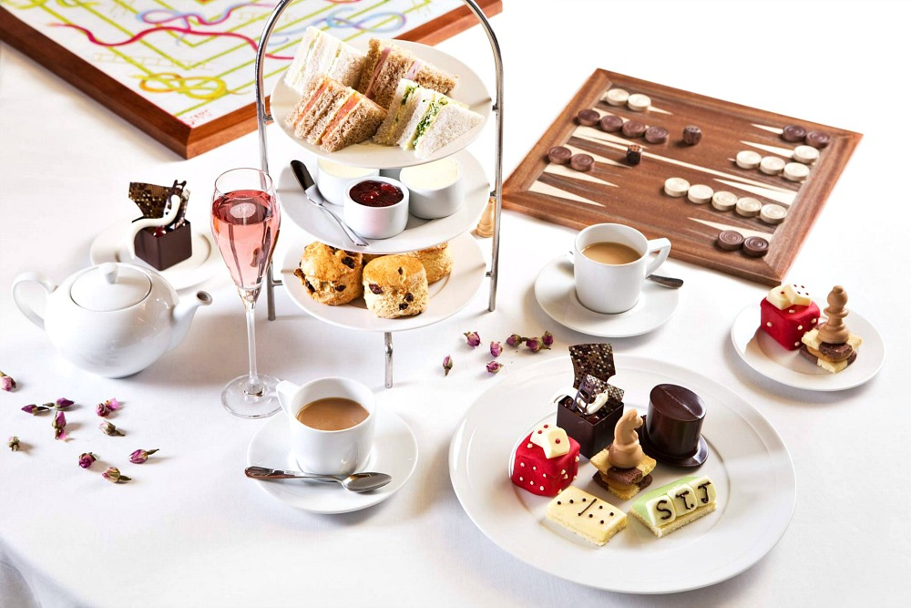 are there afternoon teas for kids in the 3 day london itinerary for families