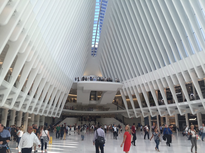 Have you seen the Oculus in NYC
