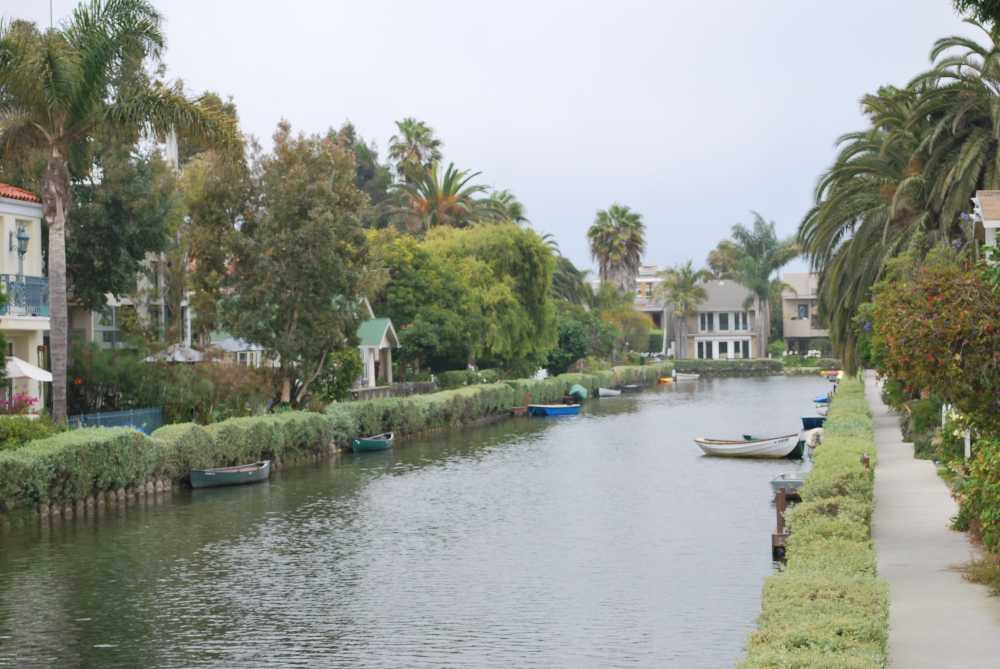 A 2 days in L.A. itinerary brings you to the scenic Venice Canals