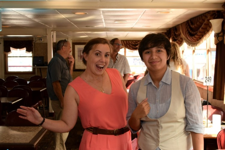 Dressing up on the Gateway Clipper Fleet cruise is optional but is sure fun!