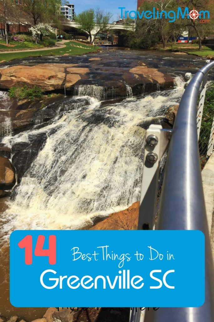 Greenville SC is a surprising southern city with a hip vibe and plenty of things to do with kids. From an impressive children's museum to a waterfall in the center of town, here are some of the best things to do in Greenville with kids.