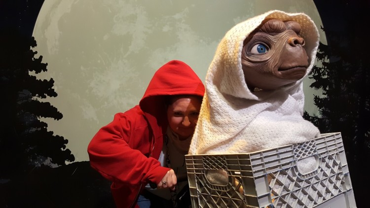 Insert yourself in classic movie scenes like E.T at Madame Tussauds Hollywood.