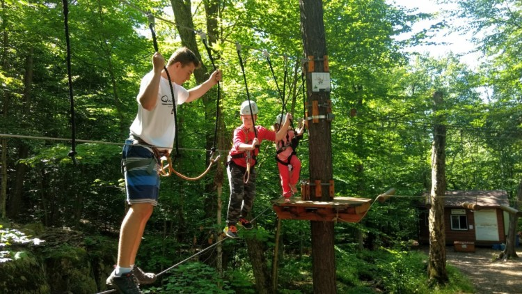1 of 9 best fun things for kids to do in Mont-Tremblant this summer.