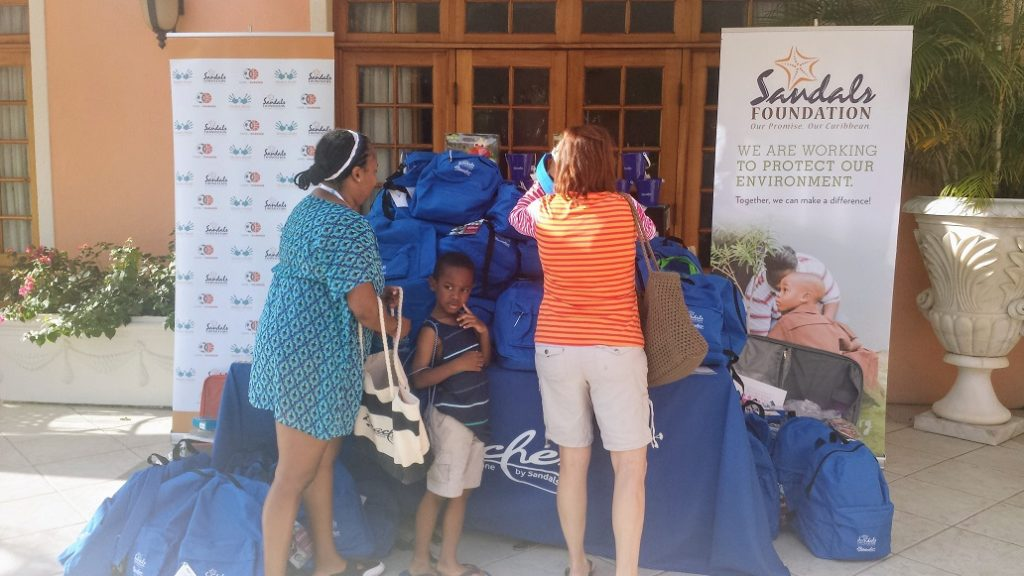 The Sandals Foundation helps vacationers give back during their stay at Beaches Turks and Caicos.