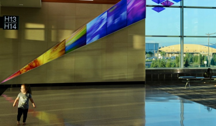 You can take a Leap of Joy in Minnesota at one of the country's best airport art galleries.
