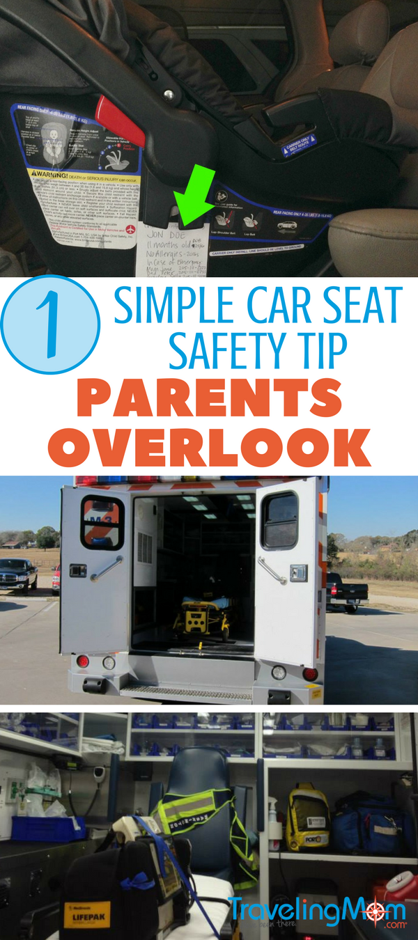 This 1 simple car seat safety tip could make all the difference to your kids if you're in an accident!