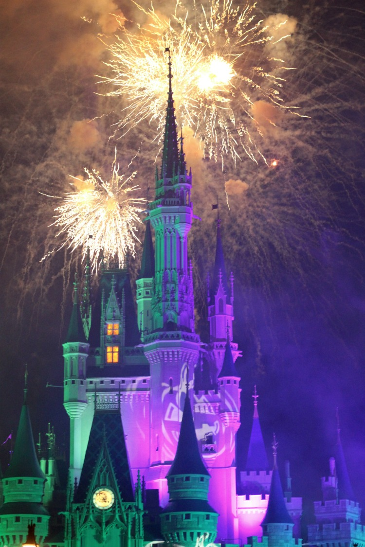 Don't miss the fireworks at Mickey's Not So Scary Halloween Party