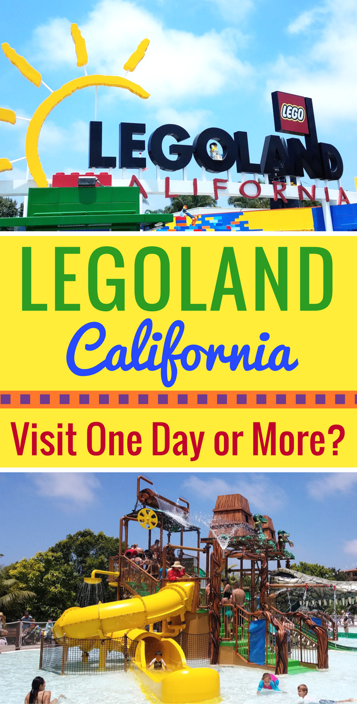 Not sure if LEGOLAND California offers enough for a multiple day visit? See why you should visit LEGOLAND California for more than one day!