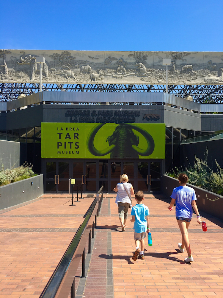 Visit the La Brea Tar Pits during your 3 day itinerary for Los Angeles.