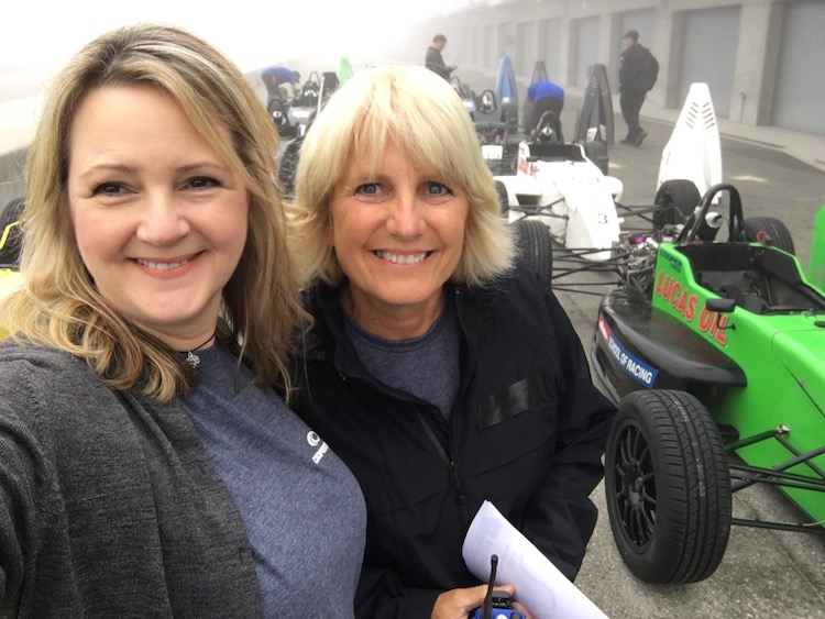 Track driving vacation with Pro driver Gail Truess