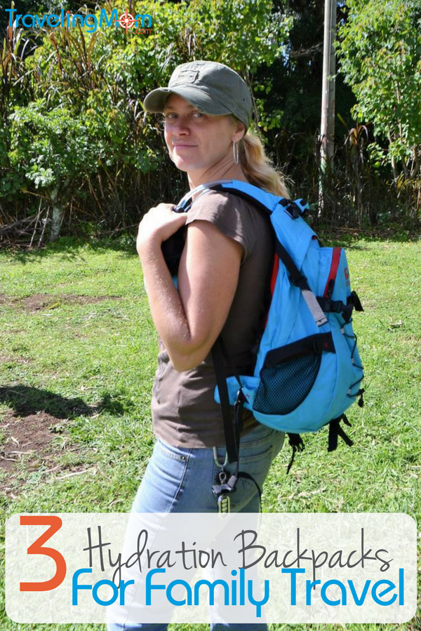 My Favorite 3 Hydration Packs for Family Adventure Getaways