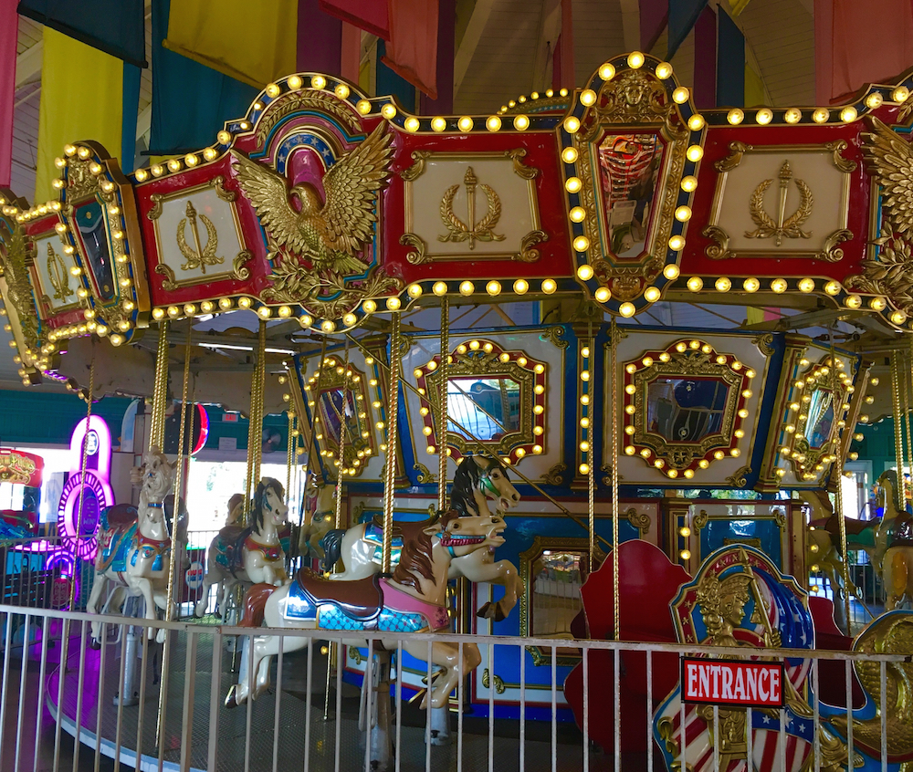 Ride a carousel in Long Beach during your 3 day itinerary for Los Angeles.
