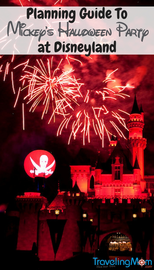 Check out the planning guide to Mickey's Halloween Party for all the details on how you can attend at the Disneyland Resort