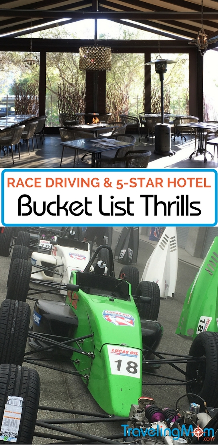 Track driving vacation at Bernardus Lodge and Mazda Raceway Laguna Seca