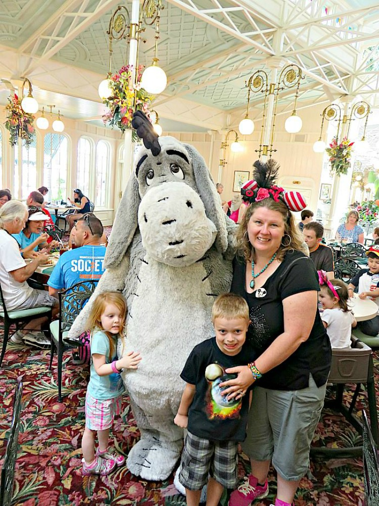 Character dining is one of the special experiences at Walt Disney World.