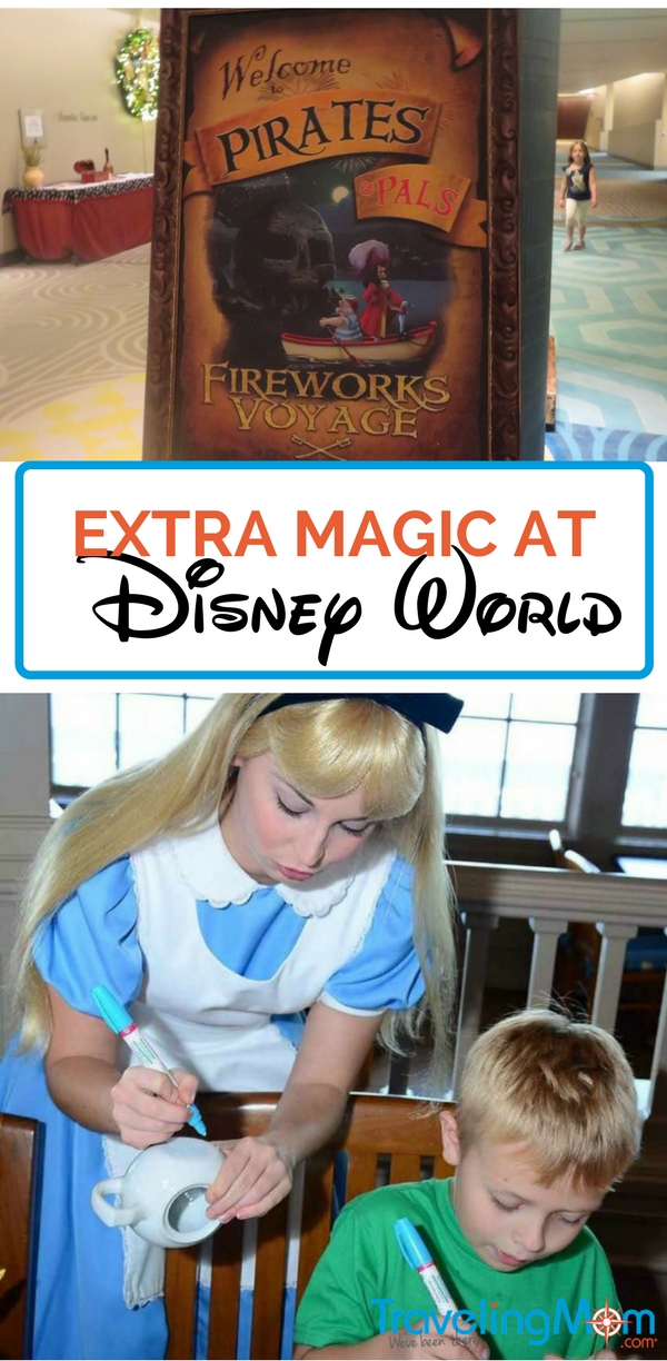 Add one of the special experiences at Walt Disney World to your trip for extra magic and memories. Take a pirate fireworks cruise, do crafts with the Mad Hatter, or indulge in one of the scrumptious dessert parties!