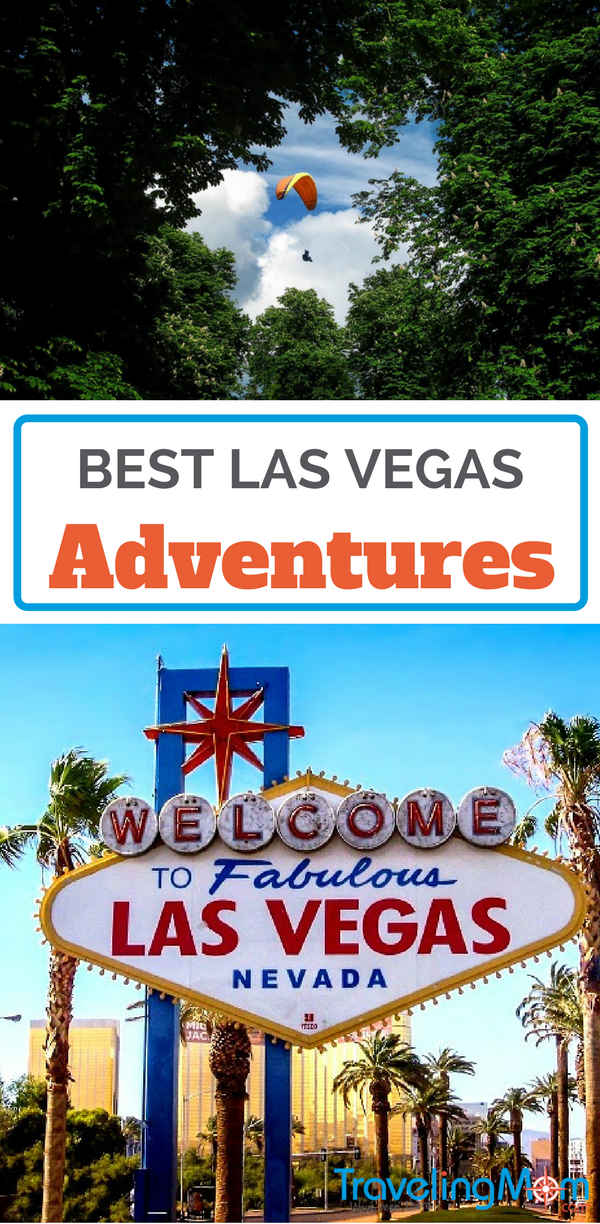 Las Vegas is known for its party atmosphere and for gambling. But, that's not all. There are also many Las Vegas adventures for us adrenaline junkies!