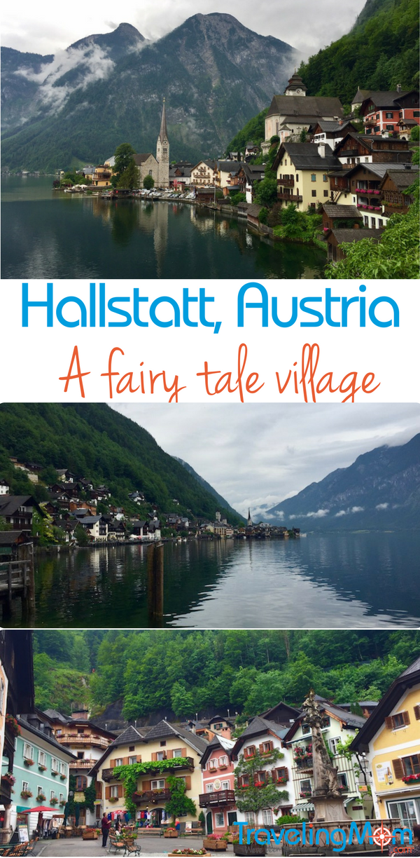 The fairy tale village of Hallstatt, Austria is a great day trip from Salzburg.