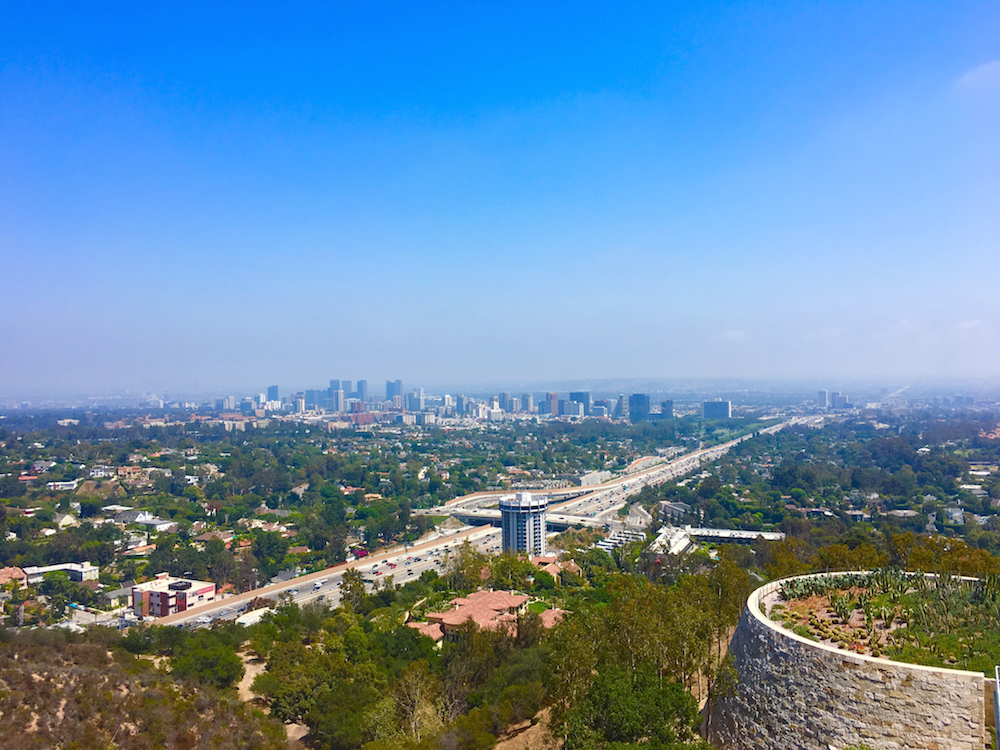 Visit The Getty Center for the views during your 3 day itinerary for Los Angeles.