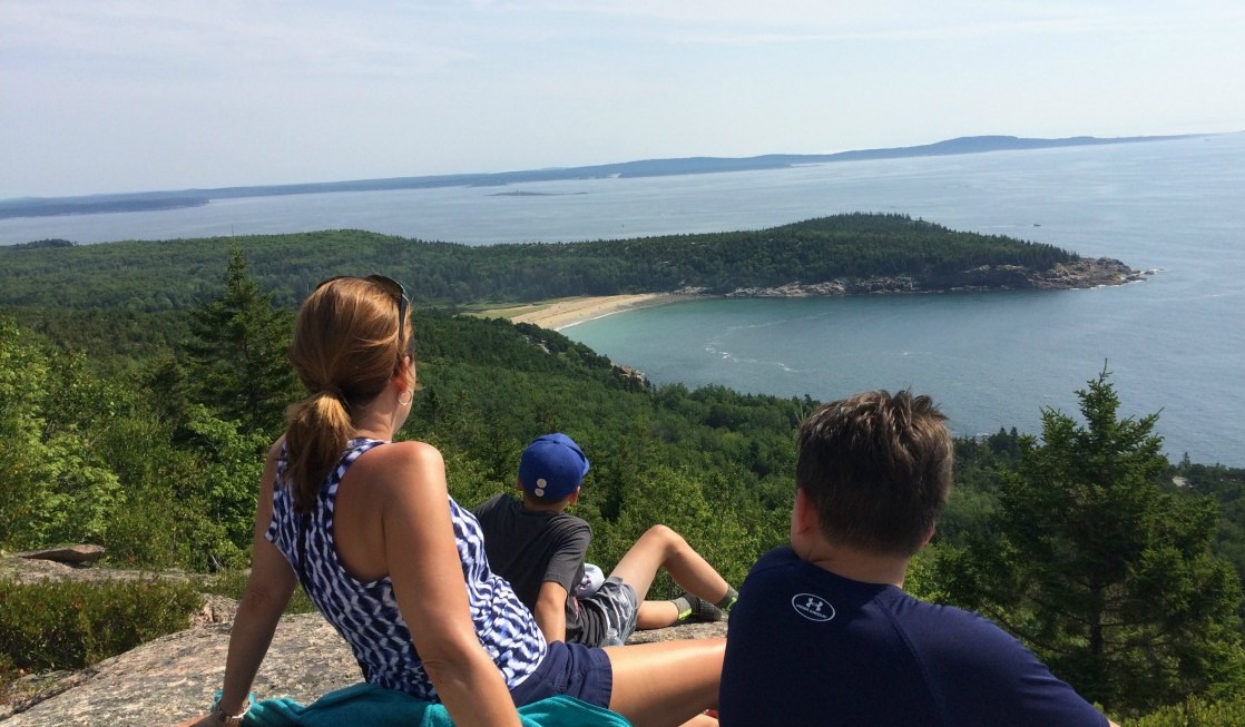 Looking for a great family hike? Most kids can handle the climb to the top of Gorham Mountain, 1 of 6 6 spectacular spots at Acadia National Park in Maine.