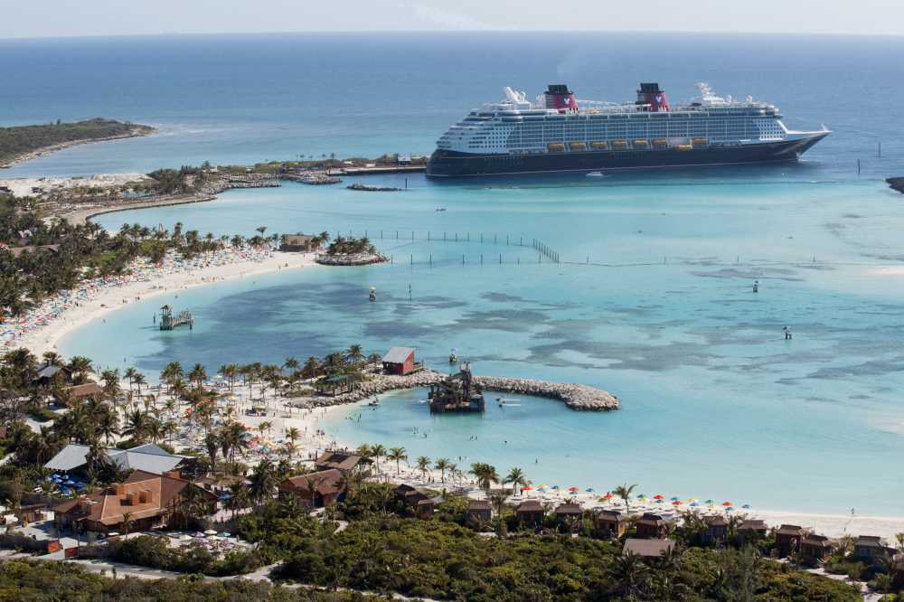 Visit Disney's beautiful private island on family sailing adventures