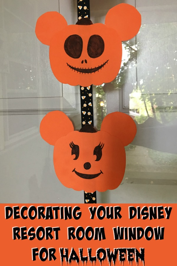 Decortaing your disney Resort room for Halloween can be fun and expensive! Here's six easy tips to get your room in Halloween spirit!