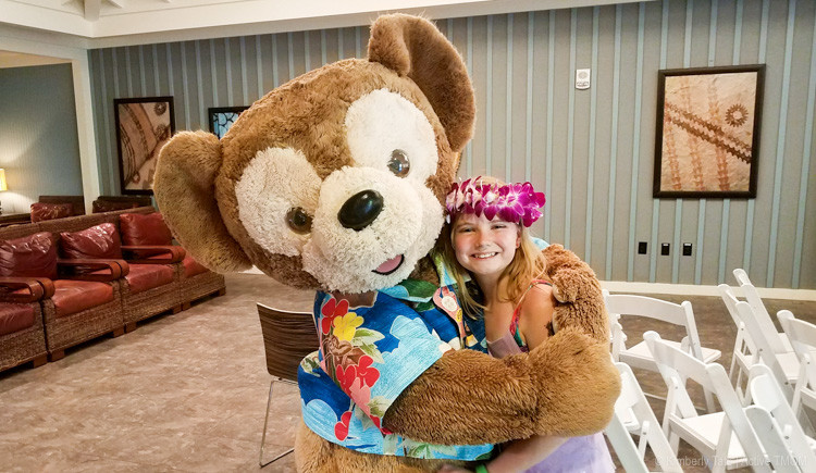Fun Hawaiian themed activities in the Pau Hana Room at Aulani.