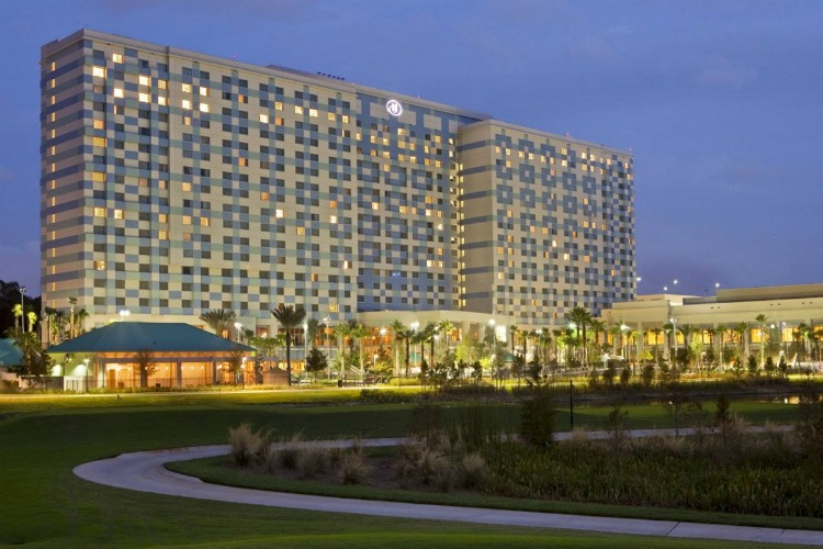 Hilton Orlando Bonnet Creek is a great place to stay when doing Disney World without kids