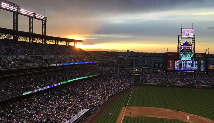 The Colorado Rockies baseball team is a must-see when visiting Downtown Denver with kids.