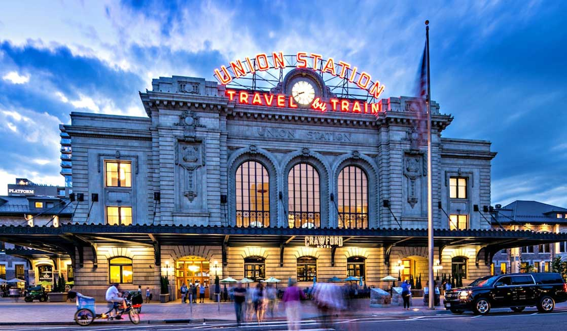 Make sure to check out DDenver Union Station when you visit Downtown Denver with kids!
