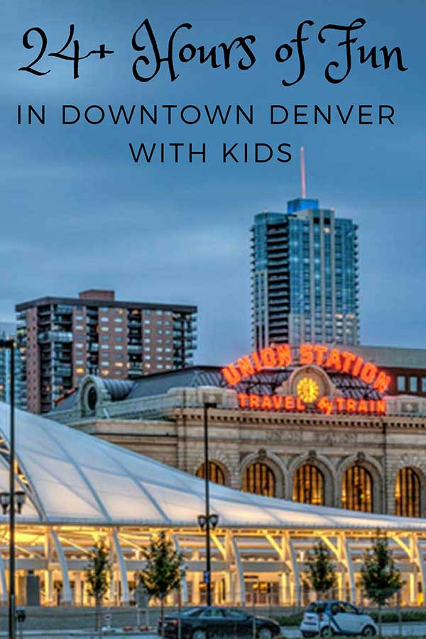 Visiting Downtown Denver with kids? Check out our list of fun places to visit and where to stay!