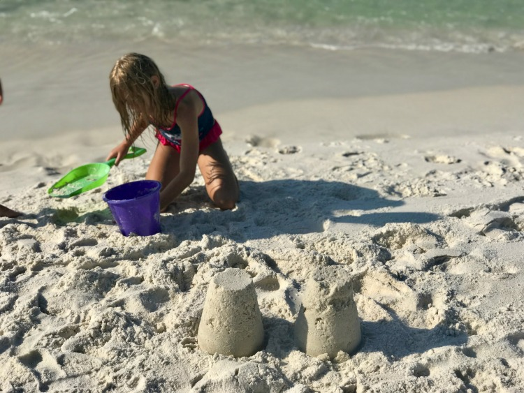 The stunning beaches are a great place for the entire family to soak up with sun off the emerald coast.